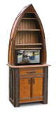 rustic TV lift cabinet, rustic furniture, lakeside