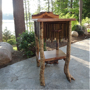 rustic furniture, rustic end tables, Adirondack